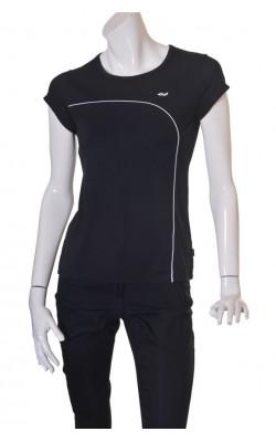 Tricou negru antrenament Rohnisch female effect, marime L