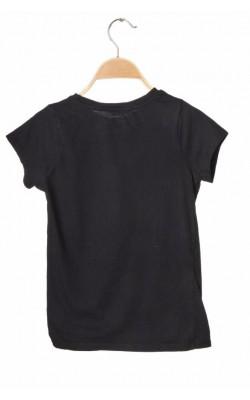 Tricou negru Cubus, imprimeu Justin Bieber, 10-11 ani