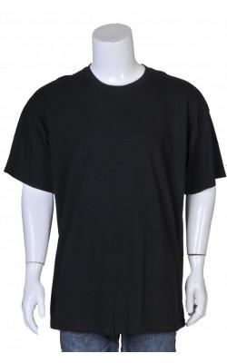 Tricou negru Gildan, marime S