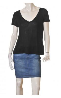 Tricou negru H&M, marime 40/42