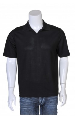 Tricou negru Liz Claiborne, vascoza stretch, marime S