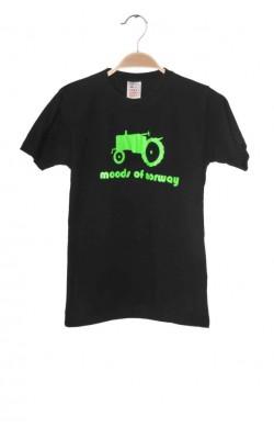 Tricou negru Moods of Norway, 10-11 ani