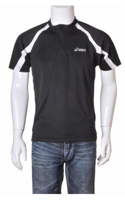 Tricou negru sport Asics, marime M