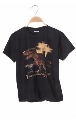 Tricou Rockeagle, imprimeu T.Rex, 10-12 ani