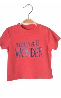Tricou rosu cu imprimeu George, 6-9 luni