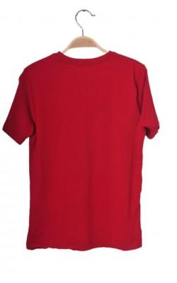 Tricou rosu din bumbac Lindex, 10-12 ani