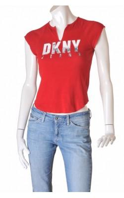 Tricou rosu Donna Karan New York, marime 38