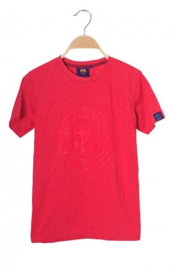 Tricou rosu FC Barcelona, 10-11 ani