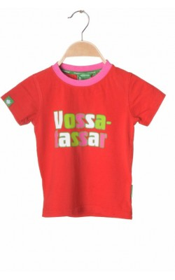 Tricou rosu Vossatassar, 2 ani