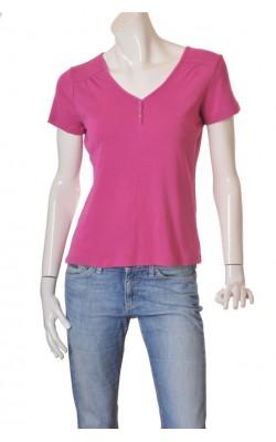 Tricou roz bumbac Peppercorn, marime 40