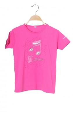 Tricou roz cu imprimeu Madigan, 12 ani
