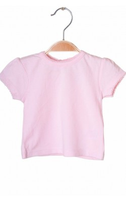 Tricou roz F&F, 0-1 luni