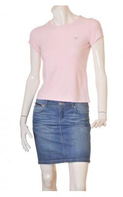 Tricou roz Gant, marime 38