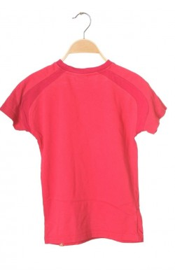 Tricou roz Norheim, bumbac organic, 10 ani