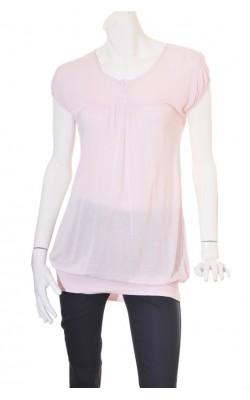 Tricou roz pal Only, marime 36
