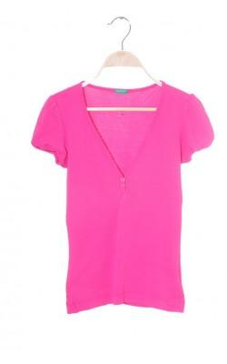 Tricou roz United Colors of Benetton, marime XS