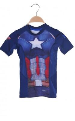 Tricou Sondico Optivent Technology, Captain America, 7-8 ani