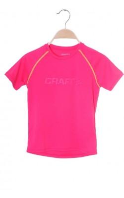 Tricou sport fete Craft, 7-8 ani