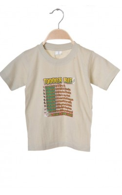 Tricou Toddler Rules, 3 ani