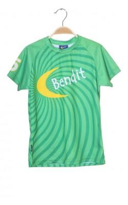Tricou verde Bendit Quick Dry, 12 ani