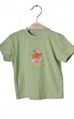 Tricou verde cu imprimeu Cherokee, 6-9 luni