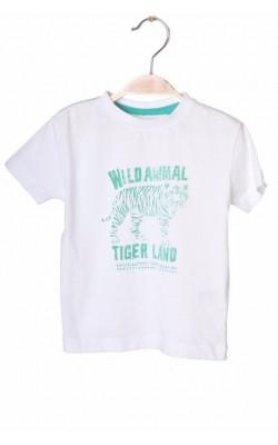 Tricou Vertbaudet, imprimeu tigru, 2 ani