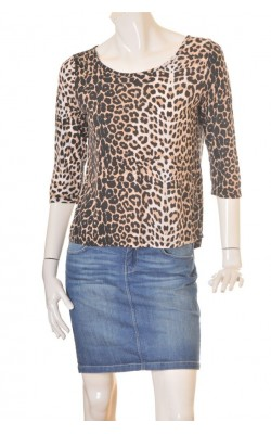 Tunica animal print Lindex, marime S