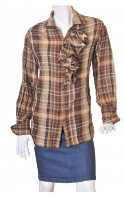 Tunica de in nuante bej Ralph Lauren, marime XL