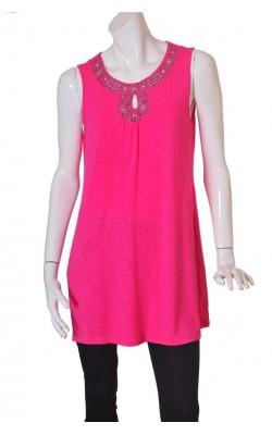 Tunica roz vascoza Andrea By Pm, marime L