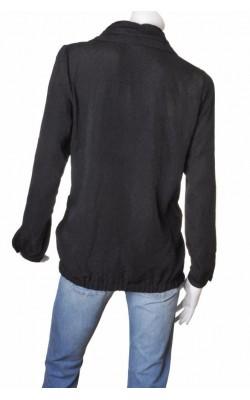Tunica tesatura neagra texturata Ciso, marime L