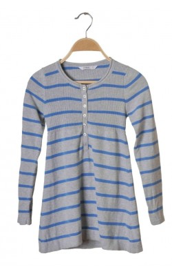Tunica tricot bumbac gri Cubus, 10 ani