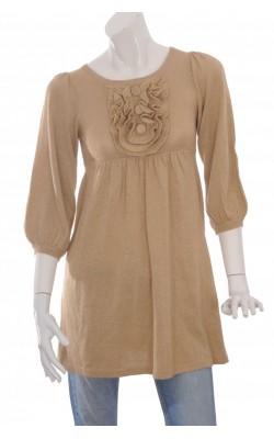 Tunica tricot fin cu fir metalic H&M, marime XS