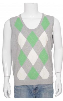 Vesta tricot fin bumbac Biaggini, marime XL