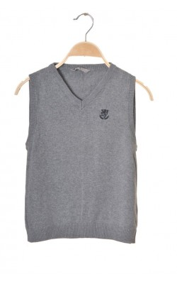 Vesta tricot gri bumbac Lindex, 10-12 ani