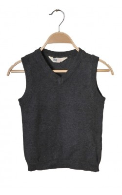 Vesta tricot gri H&M, 6-8 ani