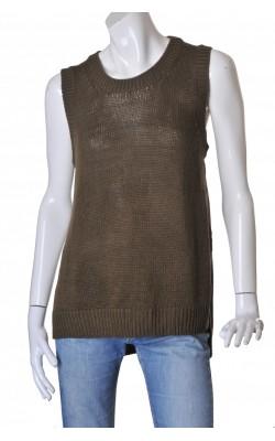 Vesta tricot reiat verde militar H&M, marime L