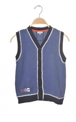 Vesta tricotata baieti Minymo, 8-9 ani