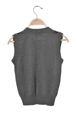 Vesta tricotata din bumbac Cubus, 7-8 ani