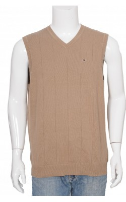 Vesta tricot moale bumbac Van Heusen, marime M