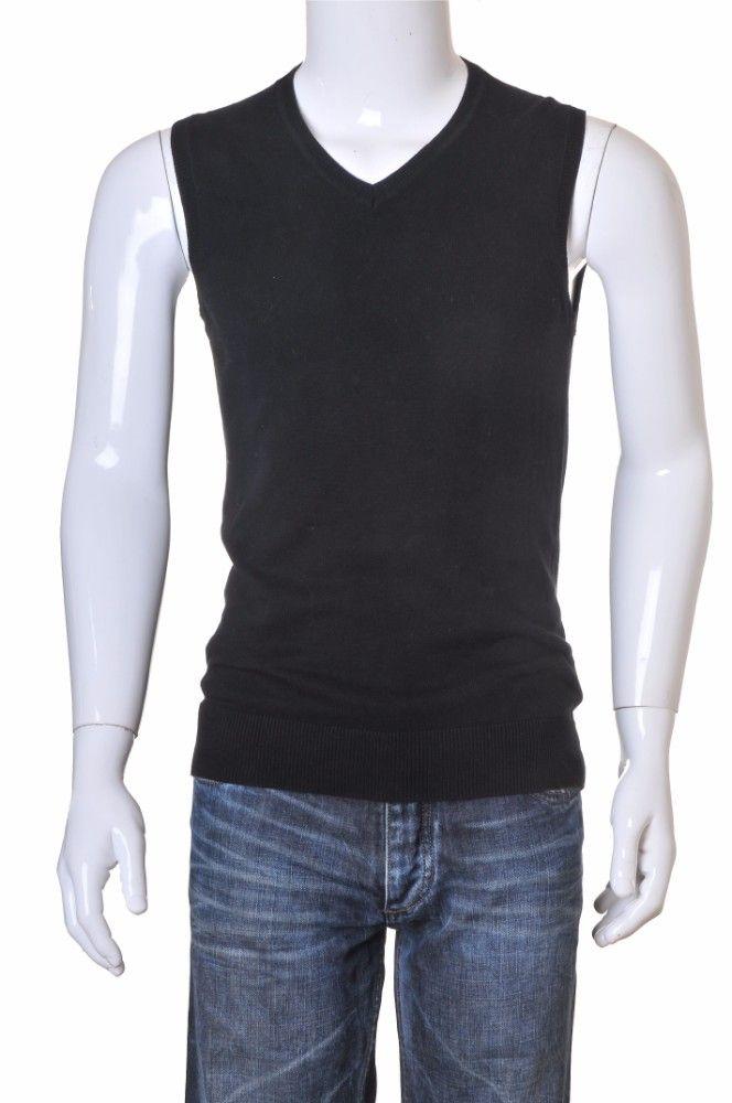 Vesta tricot negru H&M, marime S